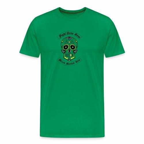 Fightness Skull - T-shirt Premium Homme