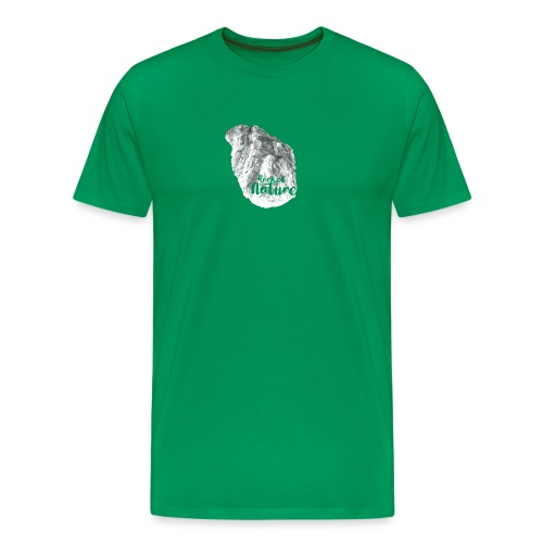 Heart - Rocked by Nature - Premium-T-shirt herr