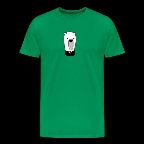 officel_polarbear_shop_logo - Herre premium T-shirt