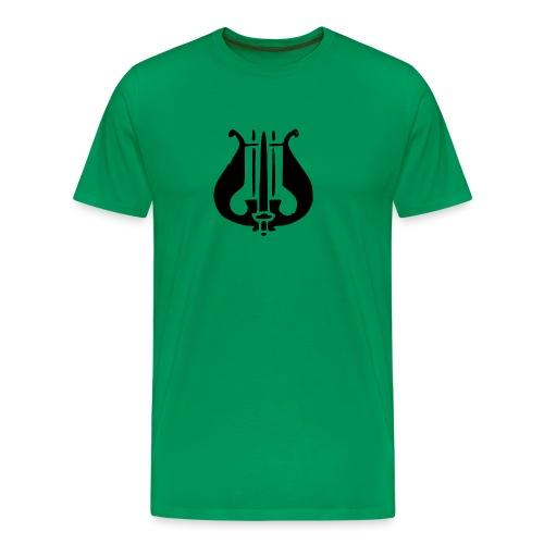 Soittaja - Miesten premium t-paita