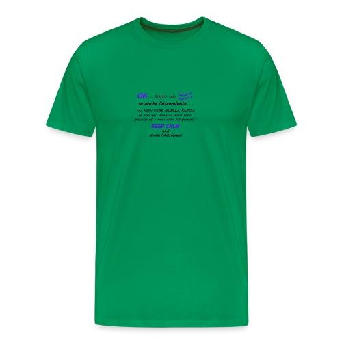 ACQUARIO - Maglietta Premium da uomo