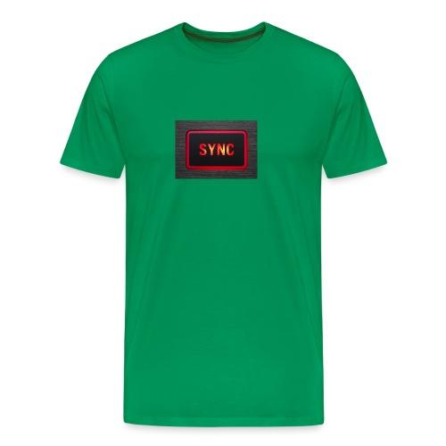 sync2 - Premium T-skjorte for menn