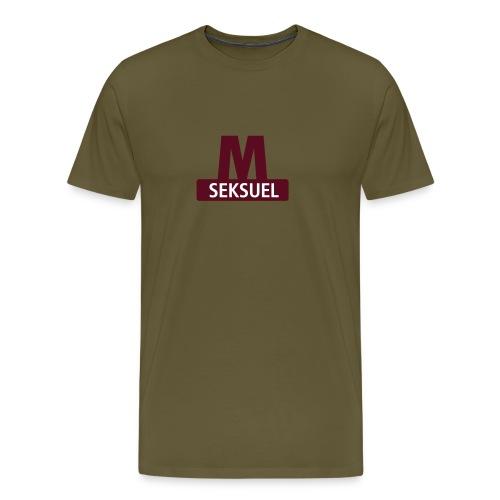 Metroseksuel - Herre premium T-shirt