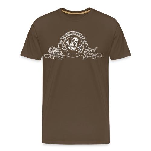 tdk Logo 2014 schw - Männer Premium T-Shirt