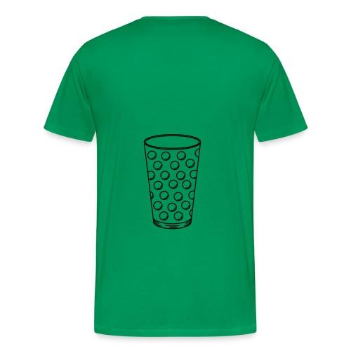 Dubbeglas - Männer Premium T-Shirt