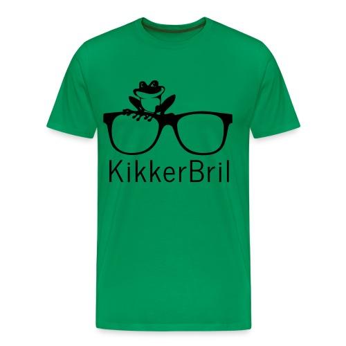 KikkerBril - Mannen Premium T-shirt