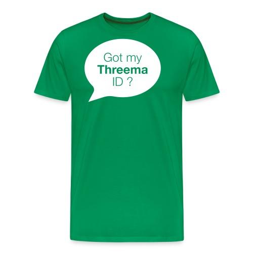 Sprechblase - Männer Premium T-Shirt