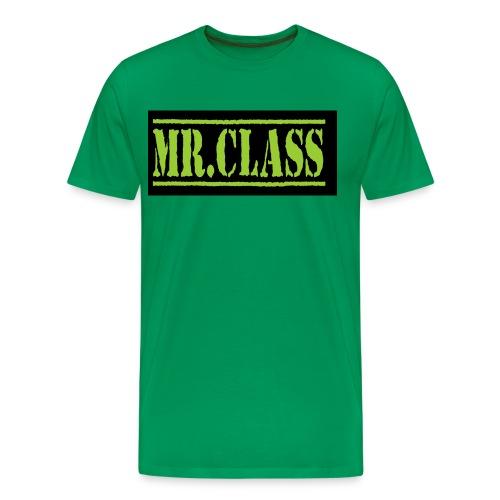 suite gr vert png - T-shirt Premium Homme