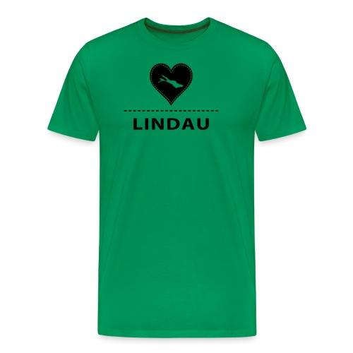 bodensee.love-local.de | Love City Lindau - Männer Premium T-Shirt