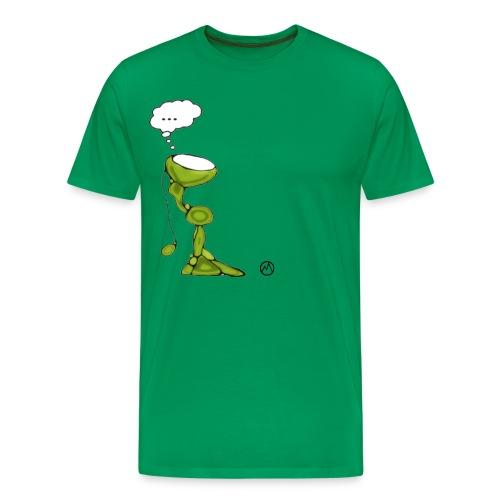 wondering over best voor tshirt groter - Mannen Premium T-shirt