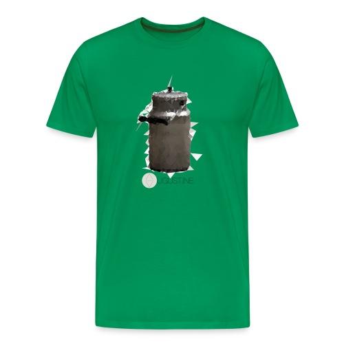 Milchkanne schwarz - Männer Premium T-Shirt