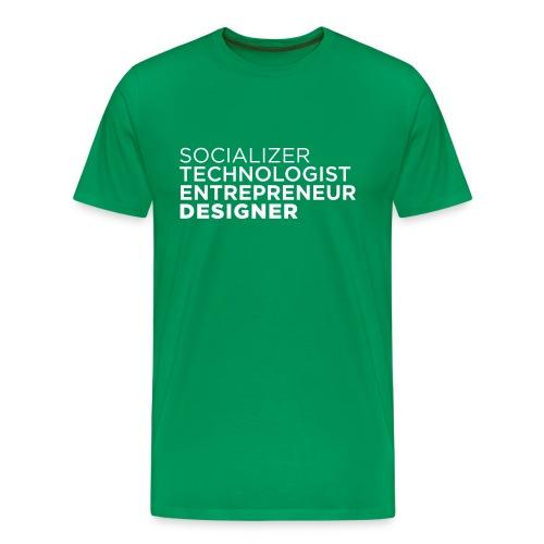 socializer - Männer Premium T-Shirt