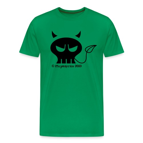Mephistito Skull vorne - Männer Premium T-Shirt