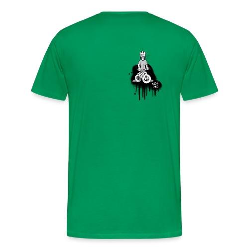 RIDE DIRT BLACK - Männer Premium T-Shirt