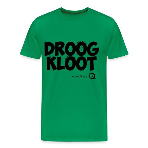 Droogkloot Shirt - Mannen Premium T-shirt