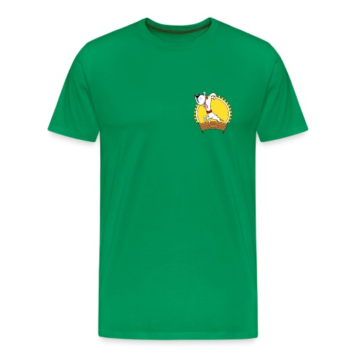 GHSV Maskottchen transparent png - Männer Premium T-Shirt