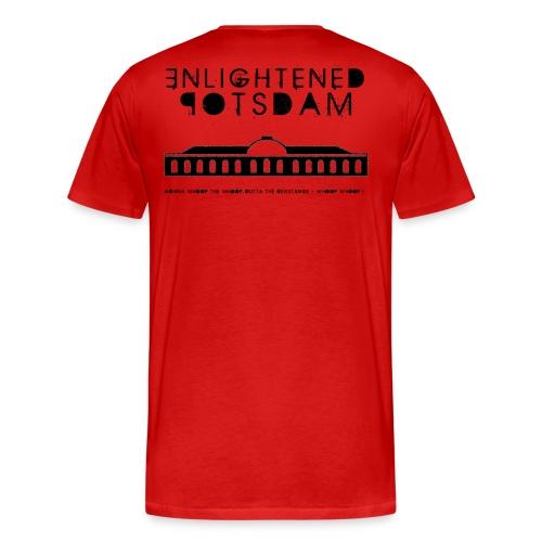 ENL black png - Männer Premium T-Shirt