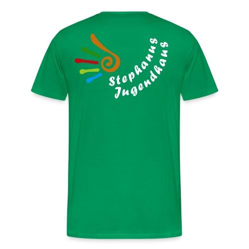 Logo_weisse_Schrift - Männer Premium T-Shirt