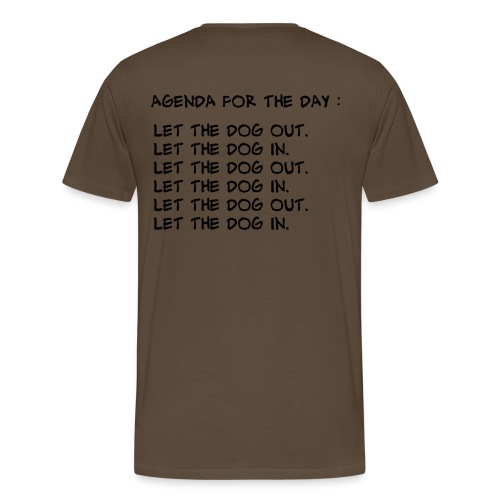 let the dog - T-shirt Premium Homme