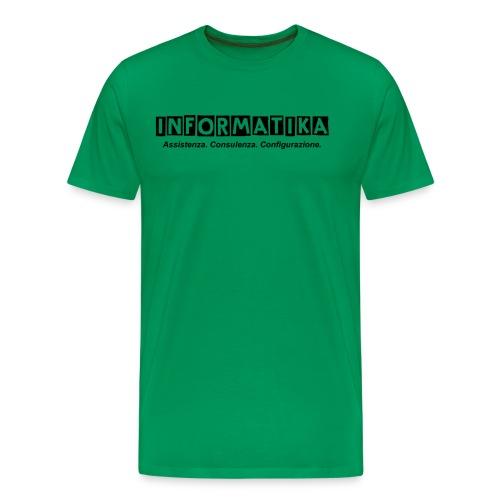 Maglietta Premium da donna informatik@ - Maglietta Premium da uomo