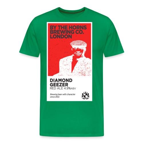 BTH PumpClip2014 Geezer png - Men's Premium T-Shirt