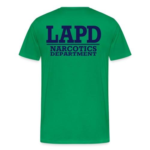 L A P D narcotics - T-shirt Premium Homme