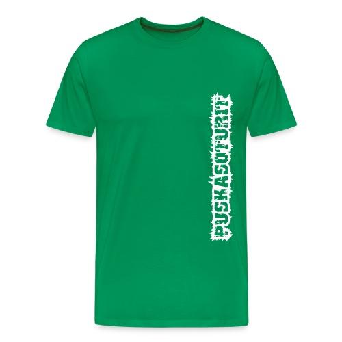 PS Tekstilogo (mono) - Miesten premium t-paita
