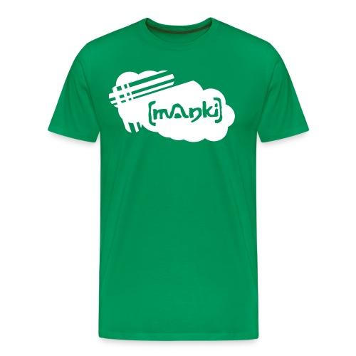 mankicloud web - Männer Premium T-Shirt