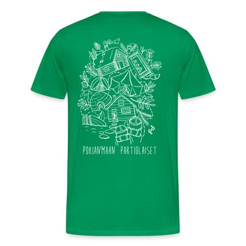 Aavoilta vaaroille - Miesten premium t-paita