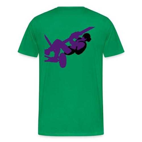 Parachutisme video - T-shirt Premium Homme