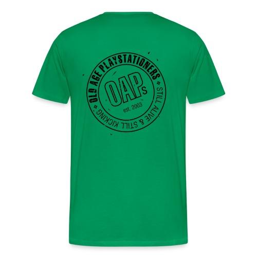 oaplogooriginallargevecblk - Men's Premium T-Shirt