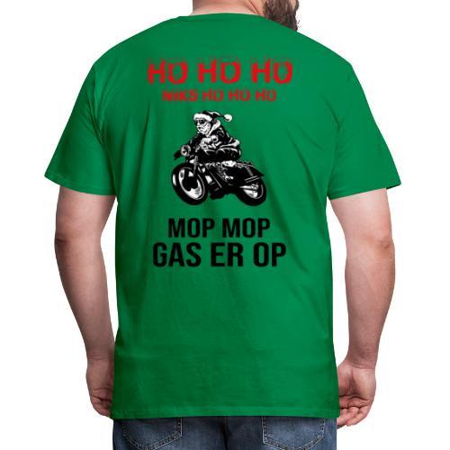 snelle kerstman - Mannen Premium T-shirt