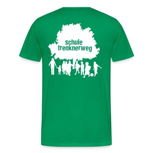 logo trenknerweg white 2 - Männer Premium T-Shirt