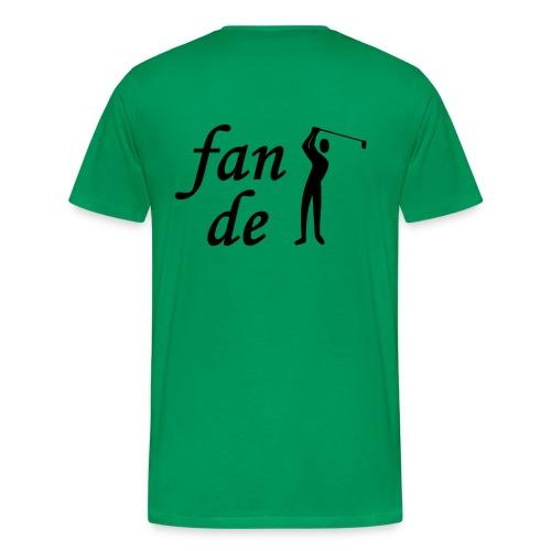 Fan de golf - T-shirt Premium Homme