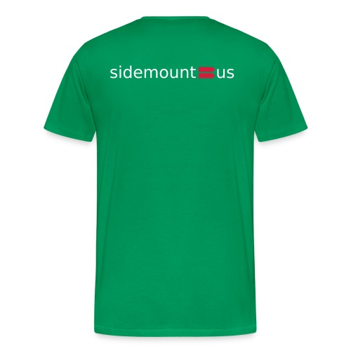 Sidemount us logo - Premium T-skjorte for menn