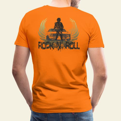 rock n roll camaro - Herre premium T-shirt