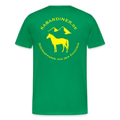 logo vektorisiert kopie2 - Männer Premium T-Shirt