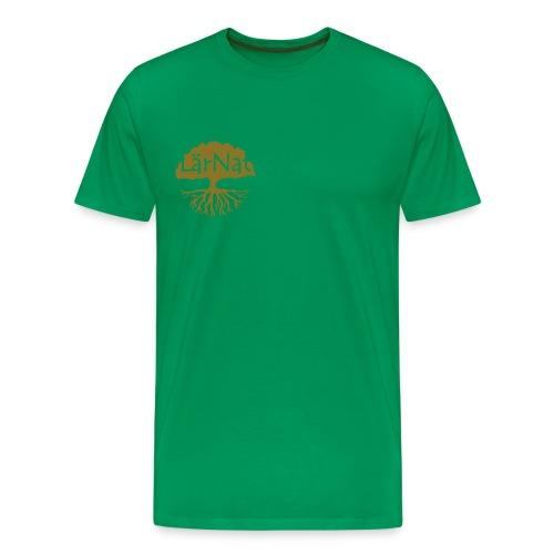 larnatloggaonecolor - Premium-T-shirt herr