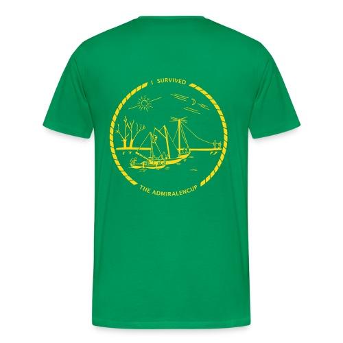 Admiralencup logo - Mannen Premium T-shirt
