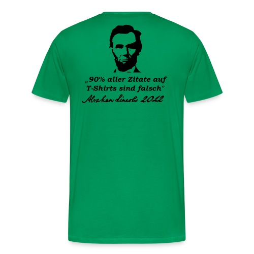Zitate - Männer Premium T-Shirt