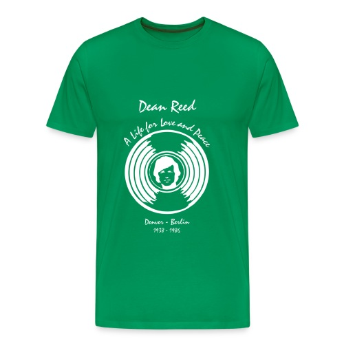 dean front white - Männer Premium T-Shirt