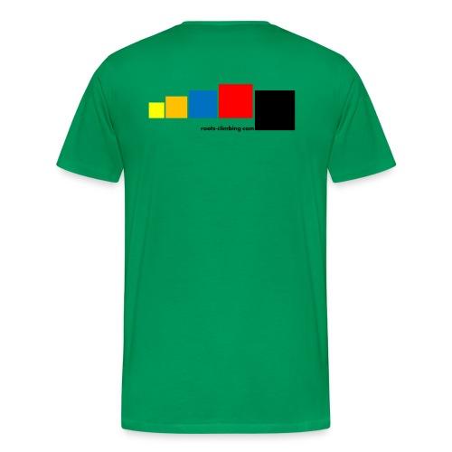 Fontainebleau Bouldering Circuits - Men's Premium T-Shirt