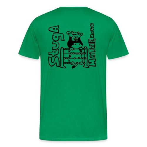 StugA Mathe Logo - Männer Premium T-Shirt