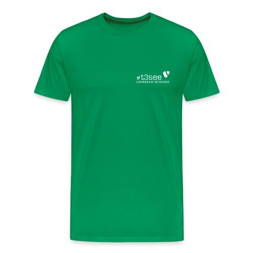 Typo3 ugbsRedesign white 600dpi png - Männer Premium T-Shirt