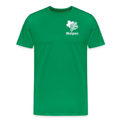welpenkleiner - Mannen Premium T-shirt