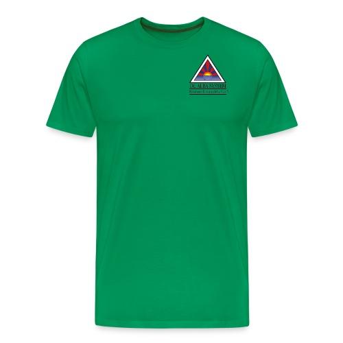 Triangle Logo - Männer Premium T-Shirt