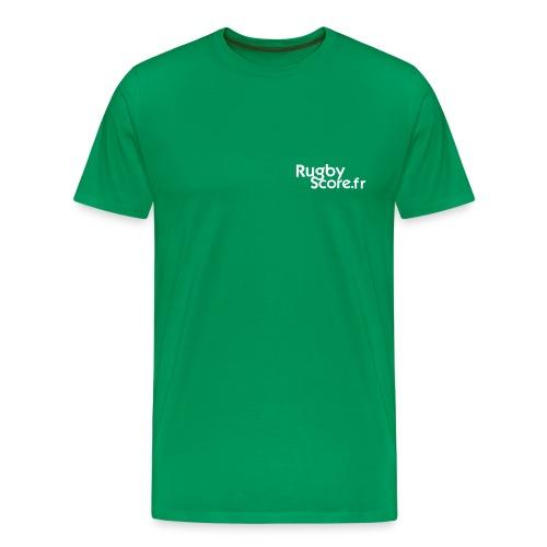logo_rugbyscore - T-shirt Premium Homme