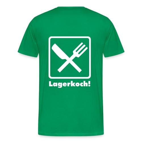 lagerkoch - Männer Premium T-Shirt