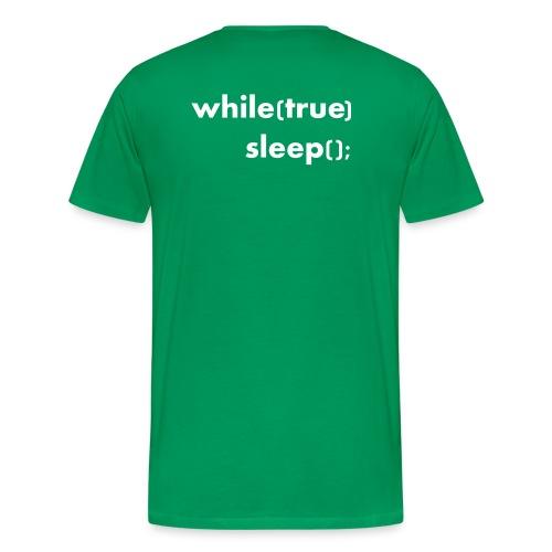 while_true - Informatikermotiv - Männer Premium T-Shirt