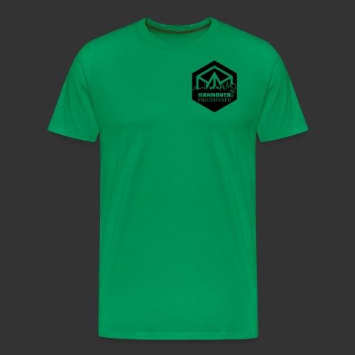 hannover_logo-sw - Männer Premium T-Shirt